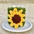 Sunflower Candle Sweater / Cozy Crochet Pattern - PATTERN ONLY - Instant