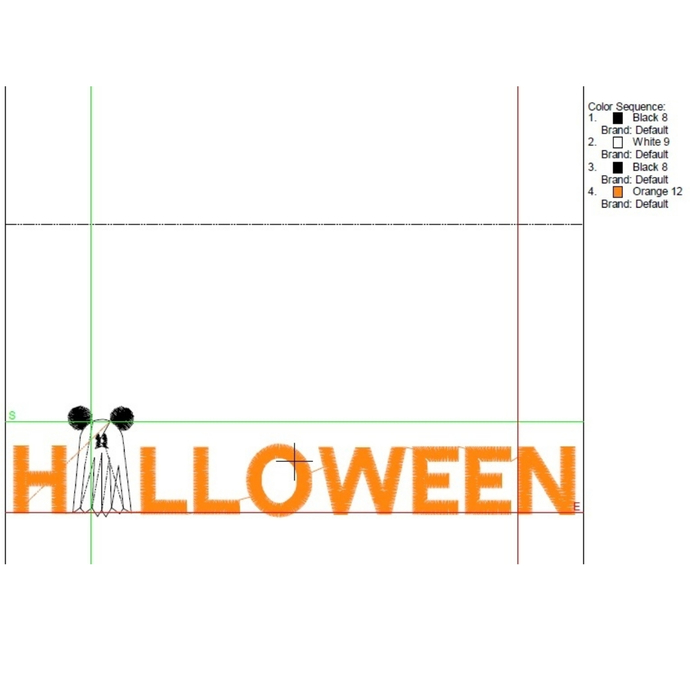 Halloween Mickey embroidery machine designs ghost digital instant download