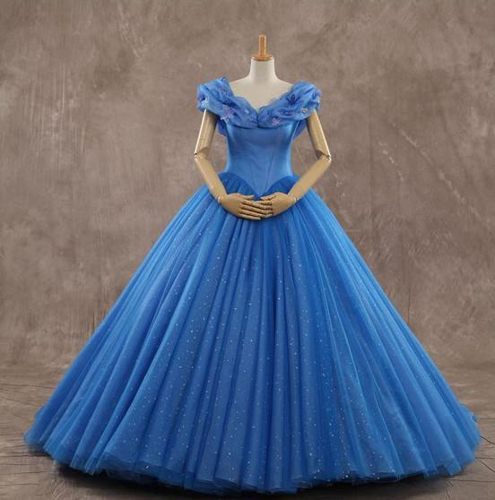 Off The Shoulder Tulle Long Prom Dress Gown,Popular Wedding Party Dress,Fashion