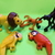 Fisher Price Little people- Monkey - 2 Parrots and A Lion