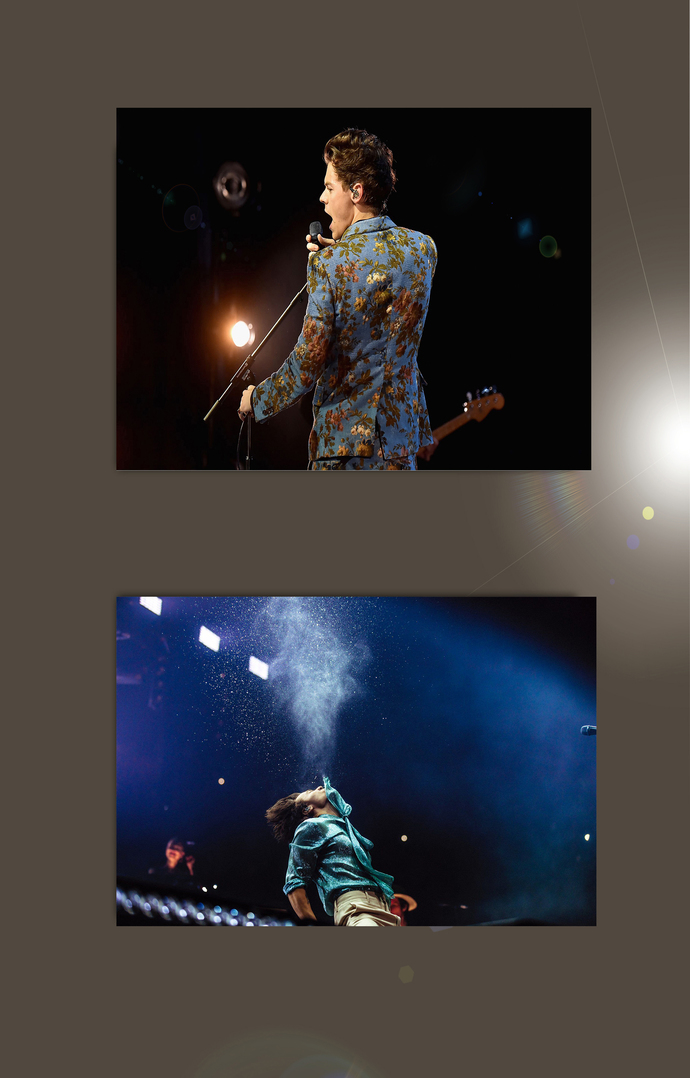 """Harry Styles   Bundle of 2 Polyester Fabric Posters (13""""x19"""" or 18""""x28"""")"""