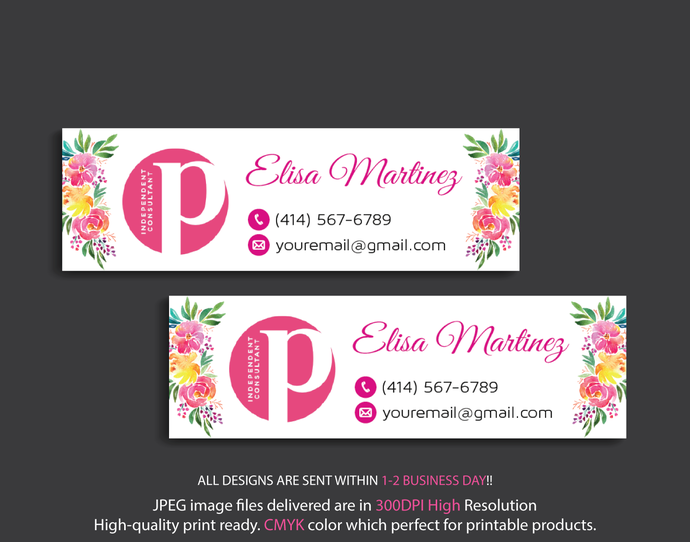 PERFECTLY POSH Address Labels, Perfectly Posh Independent Consultant,