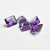 9x11  MM Emerald Cut  Octagon African Amethyst  faceted Flawless Loose Gemstone