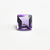10 MM Square Bufftop  African Amethyst  faceted Flawless Loose Gemstone AAA