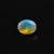 Amazing Rainbow Color ! 9X7 Ethiopian Opal semi Precious faceted oval Flawless