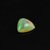 Rainbow Color ! 10MM Ethiopian Opal semi Precious Hand Polished Trillion