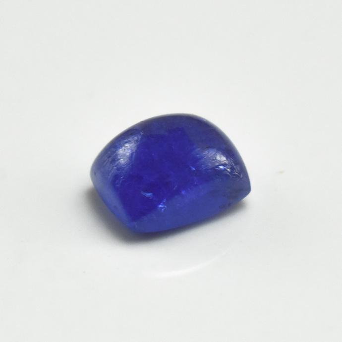 Tanzanite semi Precious Hand Polished Cushion Cabochon Flawless Loose Gemstone