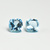 Sky Blue Topaz  Semi Precious 13 mm Cushion Faceted  Flawless  Loose Gemstone