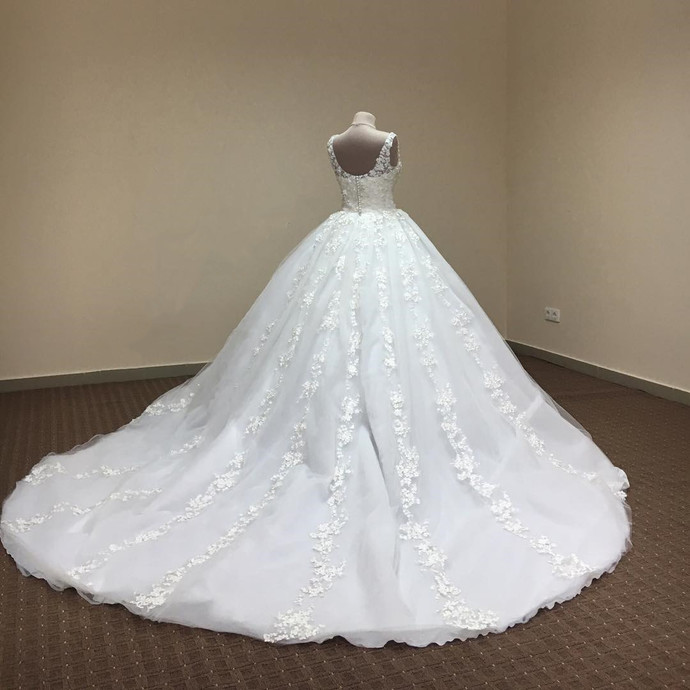 Wedding Dresses Ball Gown,Flower Lace by prom dresses on Zibbet