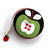 Delicious Apples Retractable Fabric Covered Tape Measure