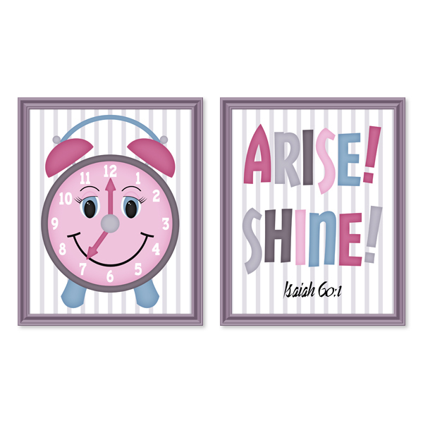 Arise! Shine! Set 4_Printable Wall Art