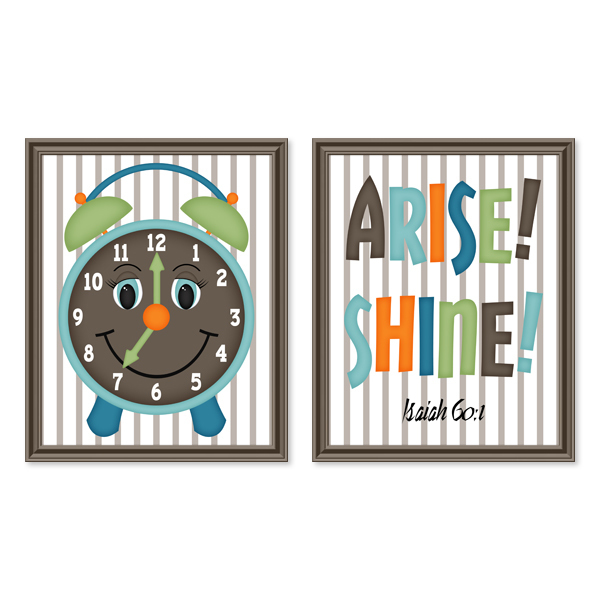 Arise! Shine! Set 3_Printable Wall Art