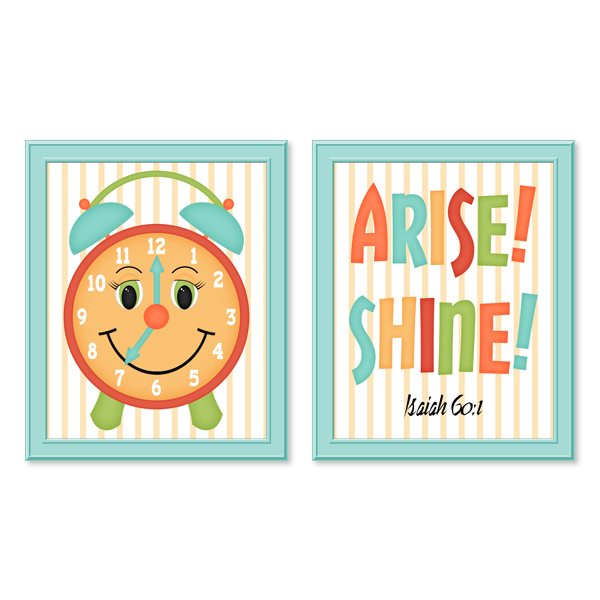 Arise! Shine! Set 2_Printable Wall Art