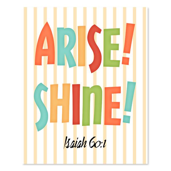 Arise! Shine! Set 2_Printable Wall Art