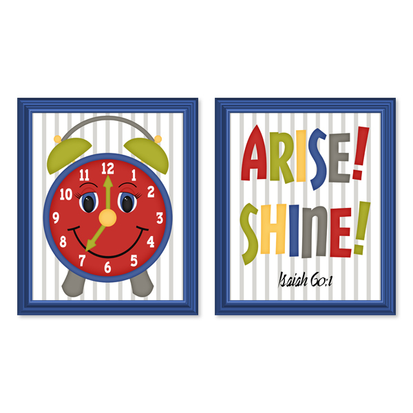 Arise! Shine! Set 1_Printable Wall Art