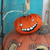 Smiling pumpkin - OOAK crazy Halloween pumpkin patch Jack O' - *TED*