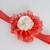 Infant Headband//6-24 Months//Foldover Elastic Headband - Red Sparkle