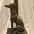 Large metal greyhound/whippet
