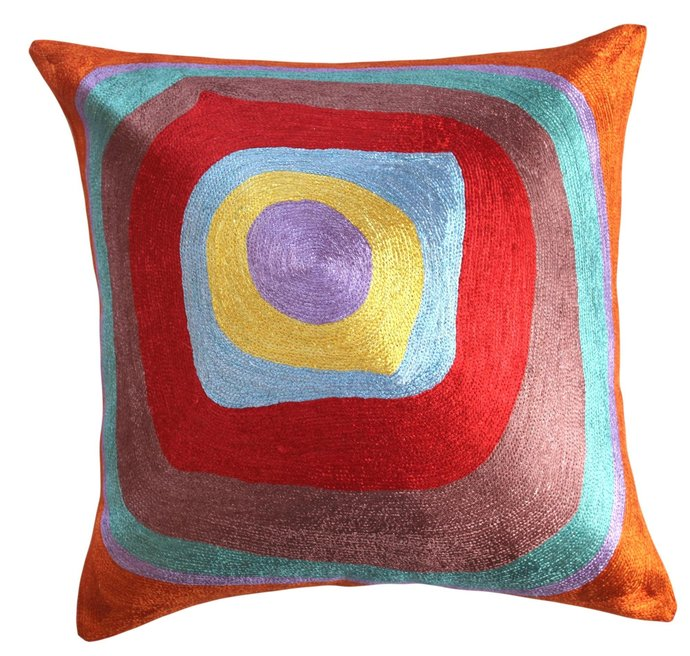 Kandinsky Point Of Life Modern Accent By Designerkashmir On Zibbet