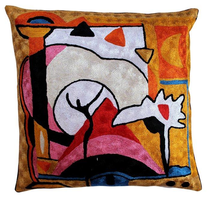 Kandinsky Modern Accent Decorative By DesignerKashmir On Zibbet Gorgeous Cheap Modern Decorative Pillows
