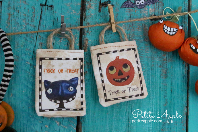 Dinky's handbag tote  *Trick or treat* vintage Halloween bag