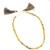 Precious Gemstone faceted Teardrop Multi Sapphire Colorful necklace Loose Beads