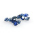 Precious Loose Gemstone Sapphire faceted 3mm Round Flawless Stones