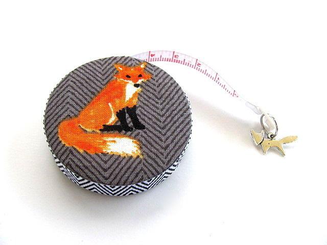 Pocket Tape Measure Chevron Foxes Retractable Measuring Tape