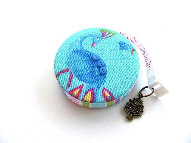 Tape Measure Bright Peacocks Retractable Measuring Tape