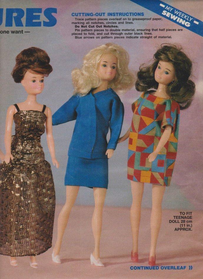 7909fd519 Instant PDF Digital Download Vintage Dolls by ickythecat on Zibbet
