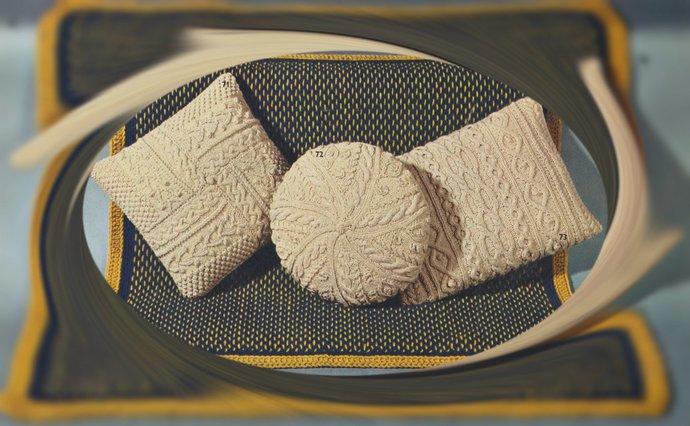 Instant PDF Download Vintage Knitting & Crochet Pattern to make 3 Super Aran