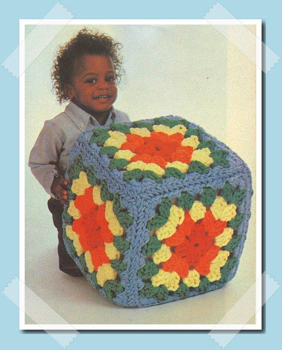 Instant PDF Digital Download Vintage Crochet Pattern to make A Children's Large