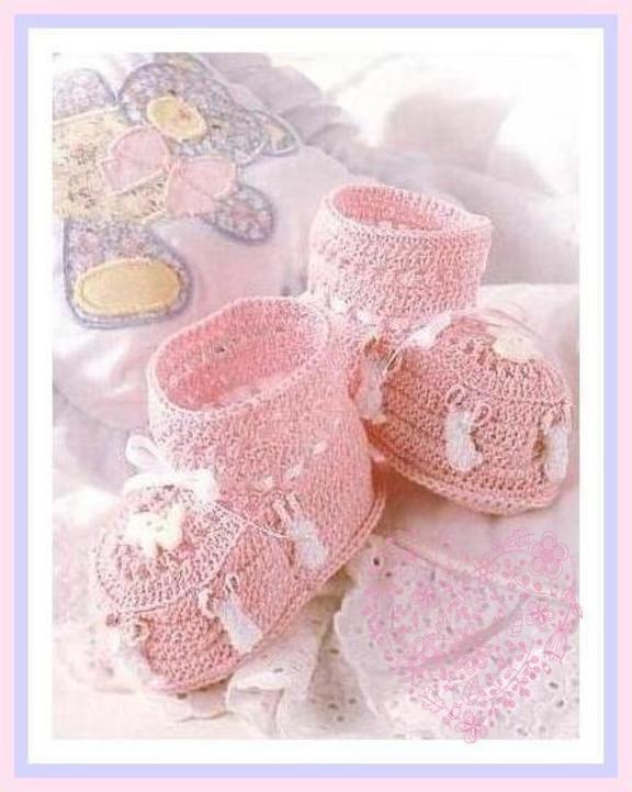 Vintage Crochet Pattern To Make Cute Bunny By Ickythecat On Zibbet