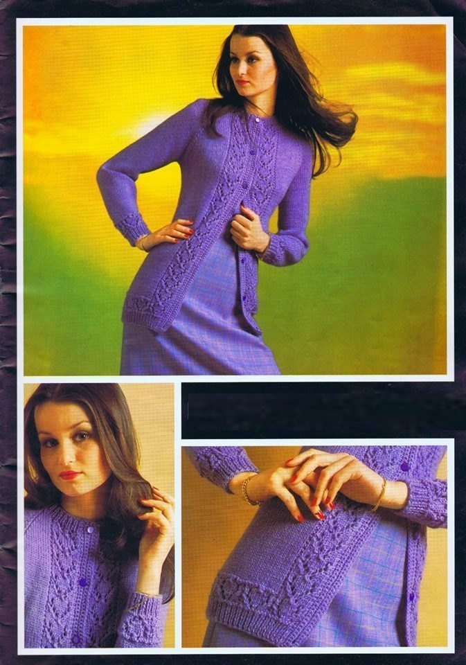 ALMOST FREE Instant PDF Download Vintage Seventies Knitting to make A Ladies