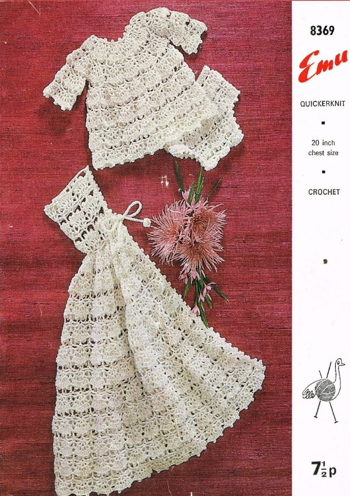 Instant PDF Digital Download Vintage Crochet Pattern to make An Angel Top with
