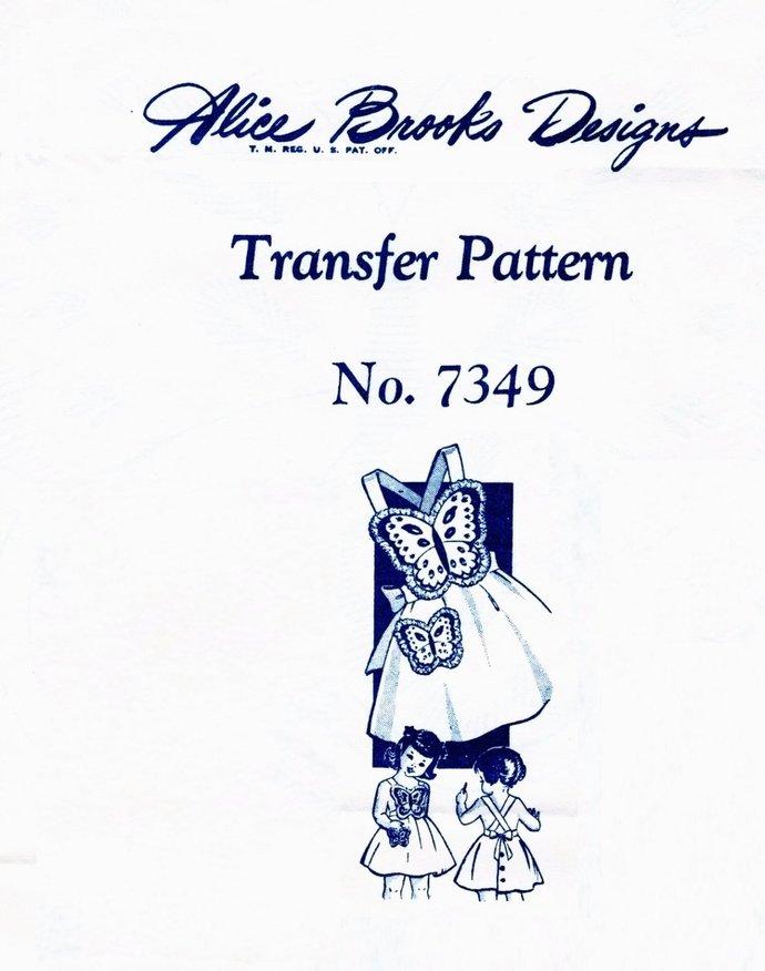 Instant PDF Digital Download Vintage Sewing Pattern Alice Brooks Mail Order