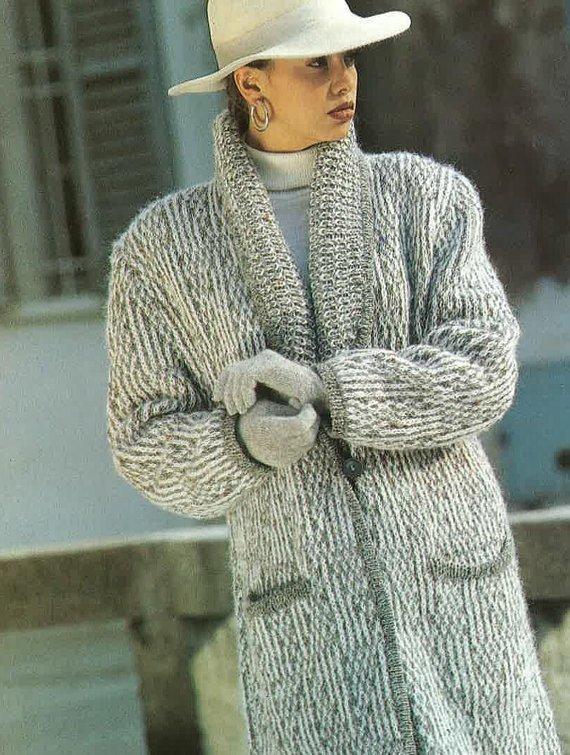 28ac1af73 Instant PDF Digital Download Vintage Knitting Pattern to make A Woman s  Ladies