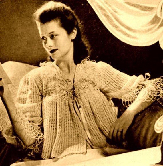 Instant Pdf Download Vintage Crochet Pattern By Ickythecat On Zibbet