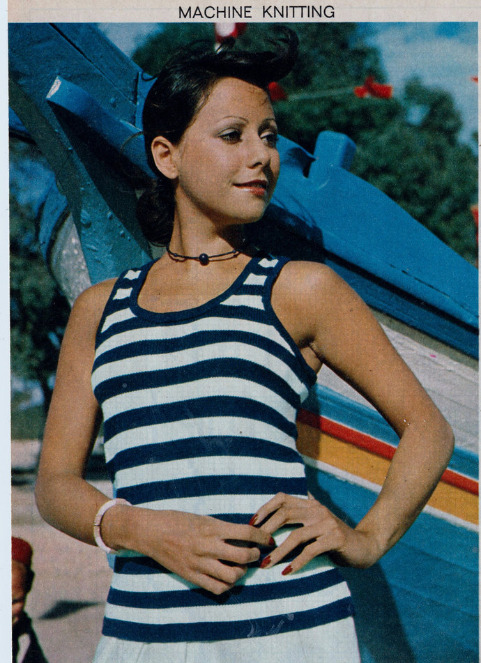 Instant PDF Digital Download Vintage MACHINE Knitting Pattern Ladies Womens Easy