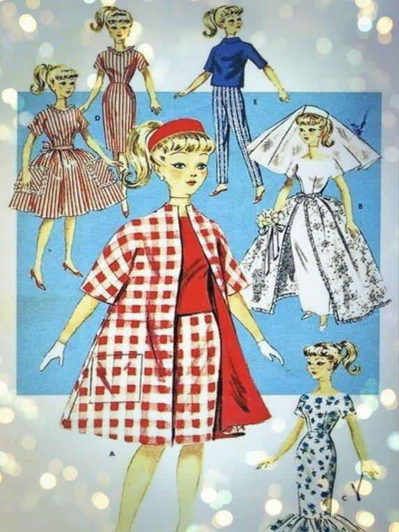Instant Digital Download Vintage Sewing Pattern to make A Super Wardrobe of