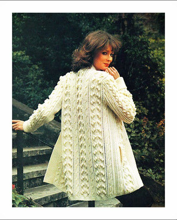ALMOST FREE Instant Download PDF Vintage Row by Row Knitting Pattern Superb