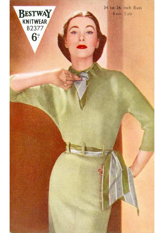 ALMOST FREE Instant PDF Download Vintage Knitting Pattern to make Ladies Woman's