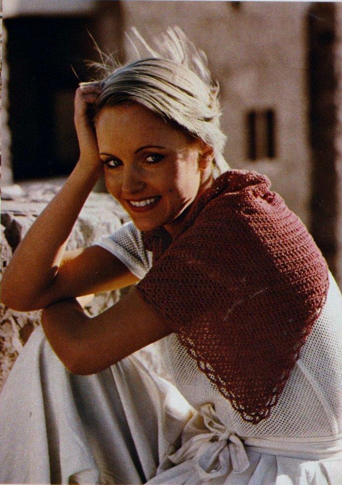 Instant Download PDF Vintage Crochet Pattern Ladies Girl's Easy Quick Beginner's
