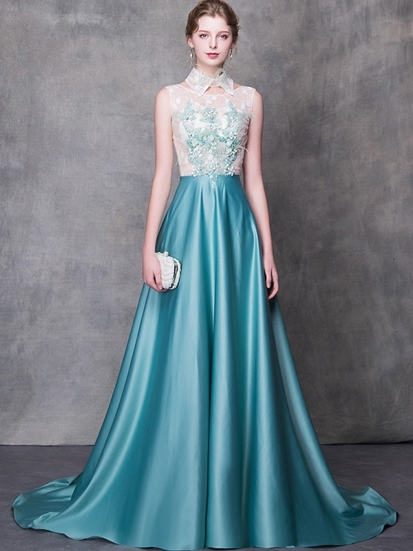 Handmade Flower Stitching Removable Collar By Prom Dresses On Zibbet