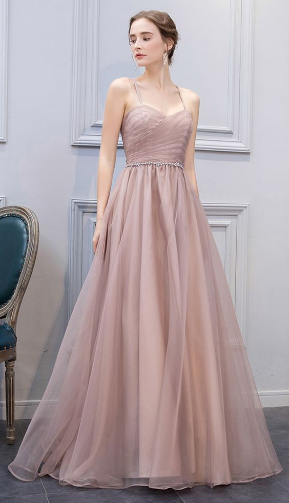 7f71ef4143e Stylish A-Line Sweetheart Champagne Long Prom by prom dresses on