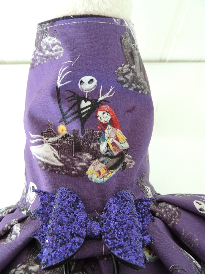 Nightmare before Christmas Dog Dress #3