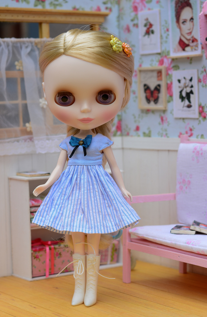 Handmade Blythe dress