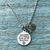 Godmothers are a Blessing, Thank you, Godmother Gift, Godmother Necklace, God