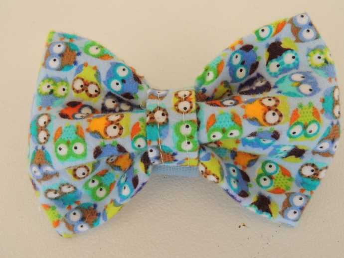 Owl Bowtie for Dogs