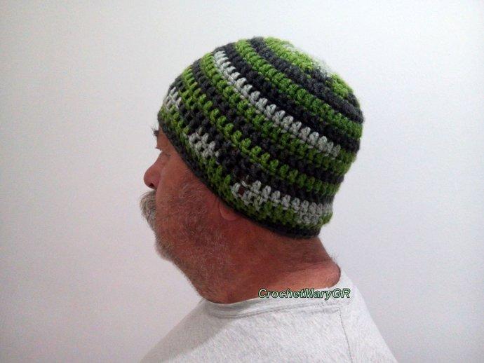Crochet hat men 4ad337edd84